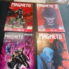 Cómics: MARVEL LOTE DE 4 COMICS MAGNETO PRÁCTICAMENTE NUEVOS. Lote 239531695
