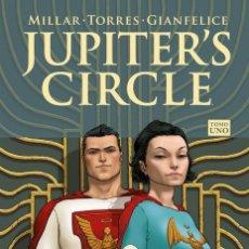 Cómics: JUPITER'S CIRCLE 1 - PANINI / IMAGE / MILLARWORLD / TAPA DURA / NUEVO DE EDITORIAL. Lote 240177815