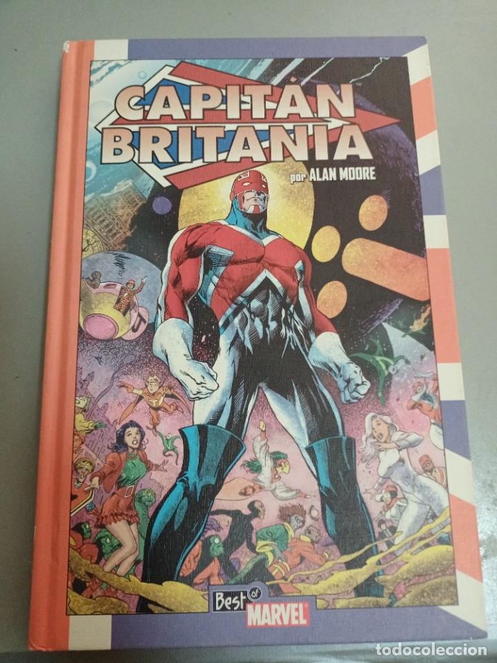 X CAPITAN BRITANIA, DE ALAN MOORE Y ALAN DAVIS (PANINI) (Tebeos y Comics - Panini - Marvel Comic)