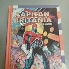 Cómics: X CAPITAN BRITANIA, DE ALAN MOORE Y ALAN DAVIS (PANINI). Lote 240426580