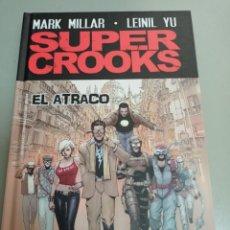 Cómics: X SUPERCROOKS. EL ATRACO, DE MILLAR Y YU (PANINI). Lote 240430460