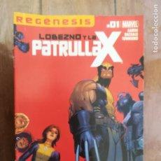 Cómics: LOBEZNO Y LA PATRULLA X. Nº 1. PANINI. Lote 240558305