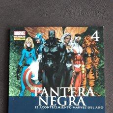 Comics: PANTERA NEGRA PANINI TOMO 4 CIVIL WAR. Lote 240727745