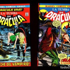 Cómics: LA TUMBA DE DRACULA 1 2 3 4 5 6 7 8 9 10 COMPLETA - PANINI / MARVEL / BIBLIOTECA DRACULA / TAPA DURA. Lote 240811870