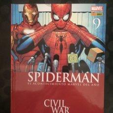 Cómics: EL ASOMBROSO SPIDERMAN VOL.7 N.9 CIVIL WAR ( 2006/... ). Lote 240982145