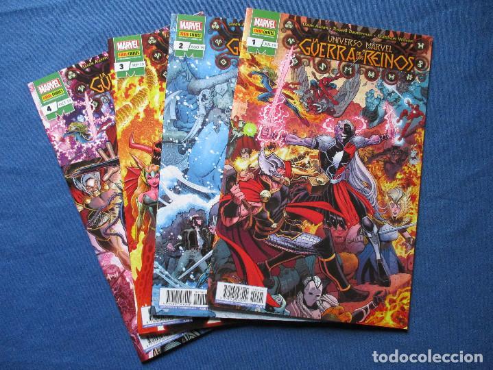 MARVEL / UNIVERSO MARVEL / LA GUERRA DE LOS REINOS / COMPLETA 4 NÚMEROS DE JASON AARON (Tebeos y Comics - Panini - Marvel Comic)