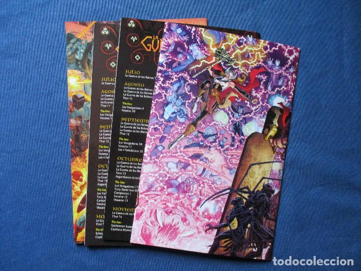 Cómics: MARVEL / UNIVERSO MARVEL / LA GUERRA DE LOS REINOS / COMPLETA 4 NÚMEROS de JASON AARON - Foto 17 - 241170220