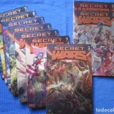Cómics: MARVEL / SECRET WARS / COMPLETA EN 9 NÚMEROS DE JONATHAN HICKMAN. Lote 241661215