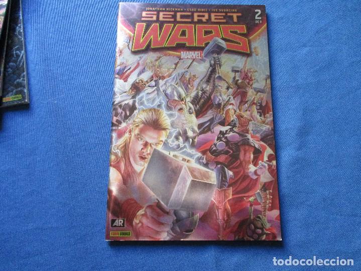 Cómics: MARVEL / SECRET WARS / COMPLETA EN 9 NÚMEROS de JONATHAN HICKMAN - Foto 5 - 241661215
