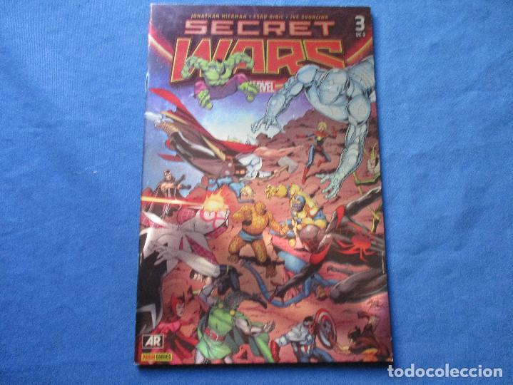 Cómics: MARVEL / SECRET WARS / COMPLETA EN 9 NÚMEROS de JONATHAN HICKMAN - Foto 8 - 241661215