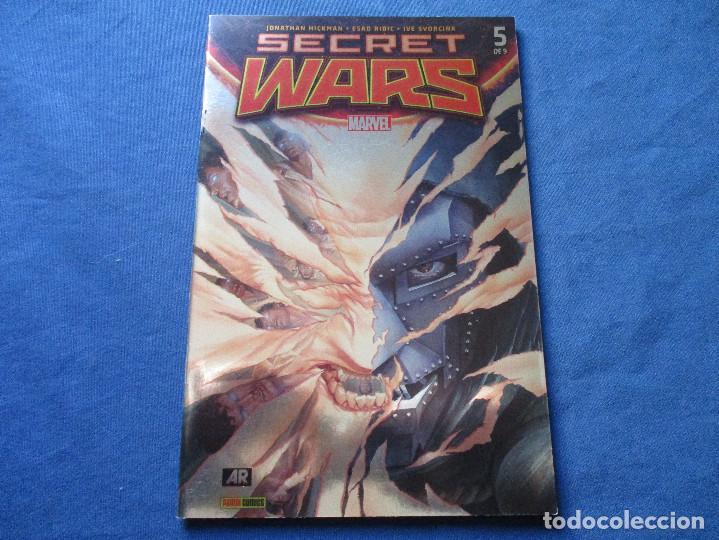Cómics: MARVEL / SECRET WARS / COMPLETA EN 9 NÚMEROS de JONATHAN HICKMAN - Foto 15 - 241661215