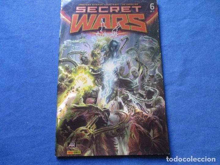 Cómics: MARVEL / SECRET WARS / COMPLETA EN 9 NÚMEROS de JONATHAN HICKMAN - Foto 19 - 241661215