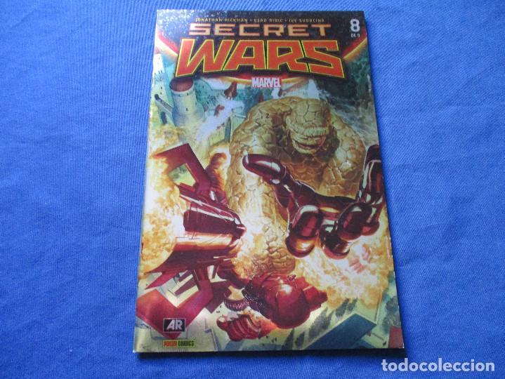 Cómics: MARVEL / SECRET WARS / COMPLETA EN 9 NÚMEROS de JONATHAN HICKMAN - Foto 26 - 241661215
