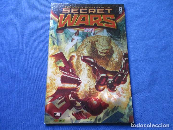 Cómics: MARVEL / SECRET WARS / COMPLETA EN 9 NÚMEROS de JONATHAN HICKMAN - Foto 27 - 241661215