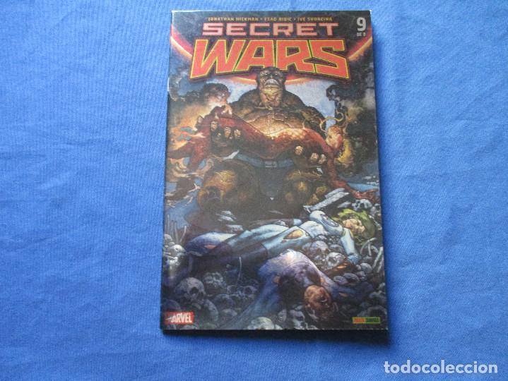 Cómics: MARVEL / SECRET WARS / COMPLETA EN 9 NÚMEROS de JONATHAN HICKMAN - Foto 30 - 241661215