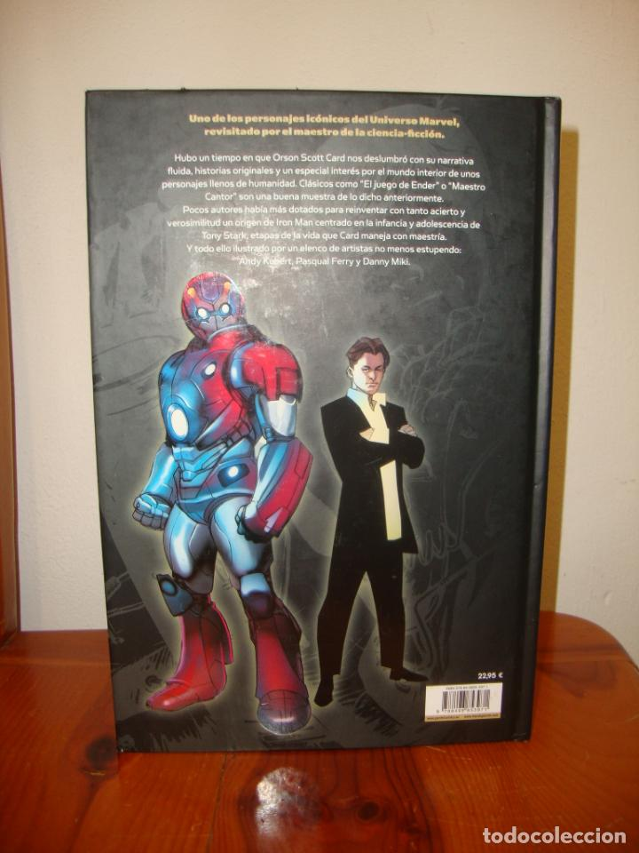 Cómics: ULTIMATE IRON MAN - ORSON SCOTT CARD, ANDY KUBERT, PASQUAL FERRY, DANNY MIKI - PANINI COMICS - Foto 3 - 241703960