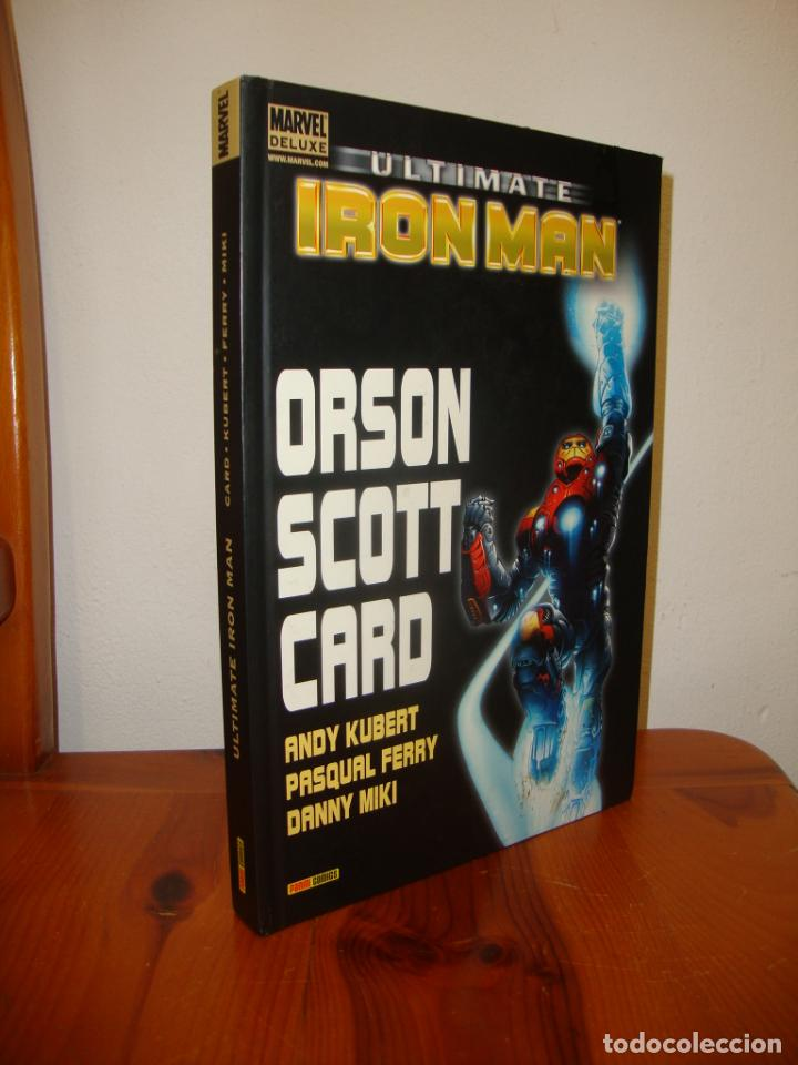 ULTIMATE IRON MAN - ORSON SCOTT CARD, ANDY KUBERT, PASQUAL FERRY, DANNY MIKI - PANINI COMICS (Tebeos y Comics - Panini - Marvel Comic)