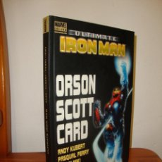 Cómics: ULTIMATE IRON MAN - ORSON SCOTT CARD, ANDY KUBERT, PASQUAL FERRY, DANNY MIKI - PANINI COMICS. Lote 241703960