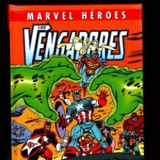 Fumetti: LOS VENGADORES : LA LINEA A CRUZAR - PANINI / MARVEL HEROES 102 / TAPA DURA / NUEVO Y PRECINTADO. Lote 242004880