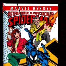 Cómics: PETER PARKER EL ESPECTACULAR SPIDERMAN 3 : LA CAZA DE LA ARAÑA - PANINI / MARVEL HEROES 80. Lote 243120260