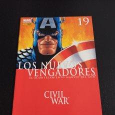 Comics: LOS NUEVOS VENGADORES. Nº 19. CIVIL WAR. Lote 243789815