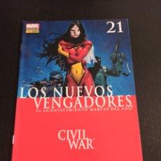 Comics: LOS NUEVOS VENGADORES. Nº 21. CIVIL WAR.. Lote 243790180