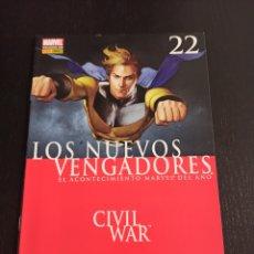 Comics: LOS NUEVOS VENGADORES. Nº 22. CIVIL WAR. Lote 243790355