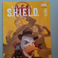 Comics: AGENTES DE SHIELD 10-PANINI COMICS. Lote 243912675