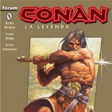 Comics: CONAN LA LEYENDA. COLECCION SEMI-COMPLETA A FALTA SOLO DEL NUMERO 20 DE UN TOTAL DE 40. PLANETA. Lote 244398000