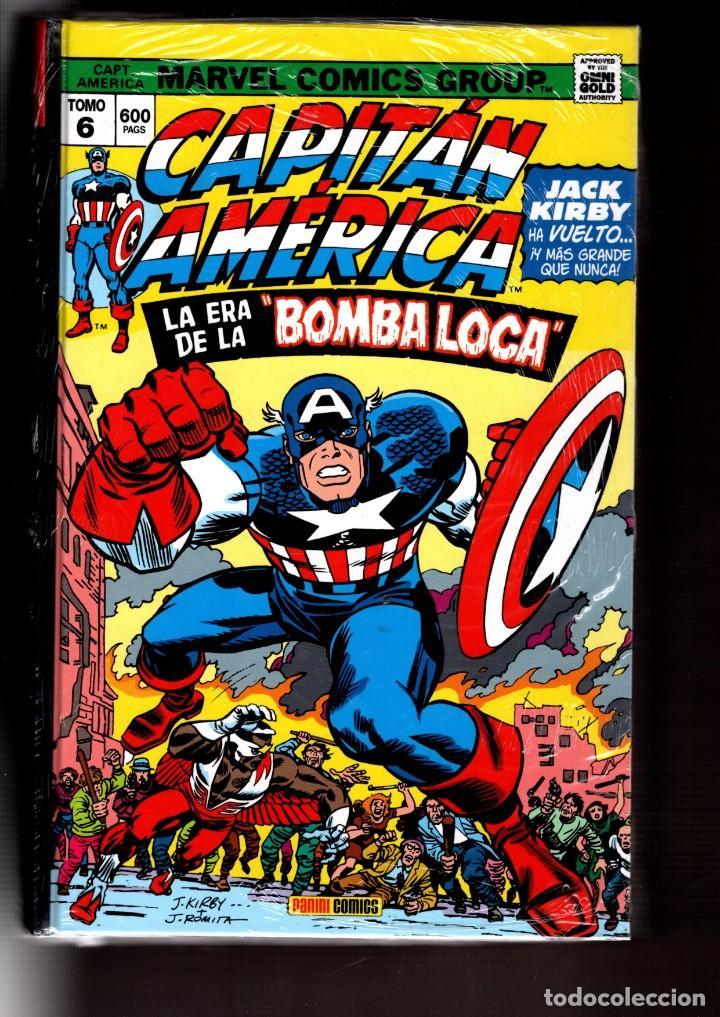 CAPITAN AMERICA 6 : LA ERA DE LA BOMBA LOCA - PANINI / MARVEL OMNI GOLD / TAPA DURA (Tebeos y Comics - Panini - Marvel Comic)