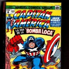 Cómics: CAPITAN AMERICA 6 : LA ERA DE LA BOMBA LOCA - PANINI / MARVEL OMNI GOLD / TAPA DURA. Lote 272166903