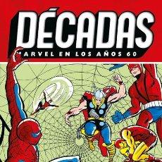 Cómics: DECADAS : MARVEL EN LOS AÑOS 60 : SPIDERMAN EN EL UNIVERSO MARVEL - PANINI / MARVEL / TAPA DURA. Lote 244943620