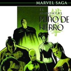 Cómics: EL INMORTAL PUÑO DE HIERRO 6 : ARMAS INMORTALES - PANINI / MARVEL SAGA 82 / TAPA DURA. Lote 244947655