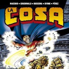 Cómics: LA COSA : EL PROYECTO PEGASO - PANINI / 100% MARVEL HC / TAPA DURA. Lote 244949645