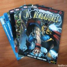 Cómics: LOTE DE 6 TOMOS LOS VENGADORES LA INICIATIVA 1 AL 6 EDITORIAL PANINI. DESCATALOGADOS. Lote 245080460