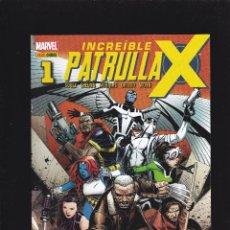 Cómics: INCREÍBLE PATRULLA-X - Nº 1 - ACTO I: VIDA DE X. PARTE UNO - PANINI -. Lote 245090175