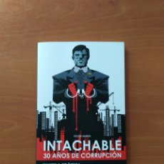 Cómics: INTACHABLE. VÍCTOR SANTOS. Lote 245163565