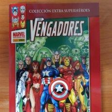 Cómics: TOMO INTEGRAL LOS VENGADORES NUEVO ORDEN DE BUSIEK Y G. PÉREZ EXTRA SUPERHEROES PANINI. Lote 245205365