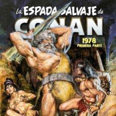 Cómics: LA ESPADA SALVAJE DE CONAN MAGAZINE 04. 1978 PRIMERA PARTE (MARVEL OMNIBUS). Lote 245297825
