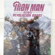 Cómics: IRON MAN 2020. REVOLUCIÓN ROBOT .EXE - SCHWARTZ, AYALA, LORE, HAMA, BURROWS, MESSINA, BOSCHI -PANINI. Lote 245547200