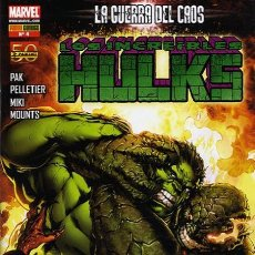Cómics: LOS INCREIBLES HULKS VOLUMEN 1 NÚMERO 4 (PANINI). Lote 245570555