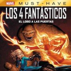Cómics: MARVEL MUST-HAVE. LOS CUATRO FANTASTICOS: EL LOBO A LAS PUERTAS. Lote 245591760