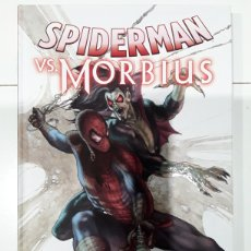 Cómics: SPIDERMAN VS. MORBIUS - LEE, THOMAS, MCFARLANE, JENKINS, KANE, RIVERA - PANINI / MARVEL. Lote 245771845