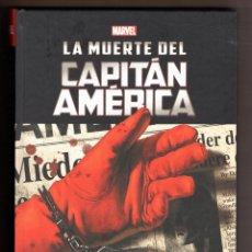 Cómics: LA MUERTE DEL CAPITAN AMERICA - PANINI / MARVEL INTEGRAL / TAPA DURA / ED BRUBAKER & STEVE EPTING. Lote 245782560