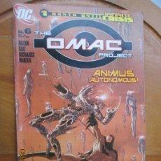 Cómics: THE OMAC PROJECT, ANIMUS AUTONOMOUS ! Nº 6 - 11-05 - 1 MONTH UNTIL INFINITE CRISIS DC. Lote 245987740