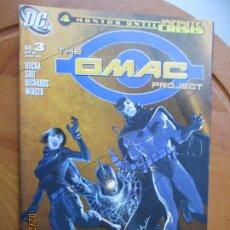 Cómics: THE OMAC PROJECT, Nº 3 - 08-05 - 4 MONTHS UNTIL INFINITE CRISIS DC. Lote 245988265