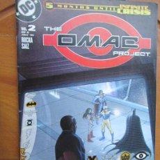 Cómics: THE OMAC PROJECT, Nº 2 - 07-05 - -5 MONTHS UNTIL INFINITE CRISIS DC. Lote 245990625
