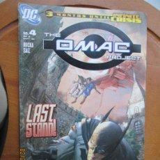 Cómics: THE OMAC PROJECT, Nº 4 - 09-05 - 3 MONTHS UNTIL INFINITE CRISIS DC. Lote 245990935