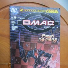 Cómics: THE OMAC PROJECT, PAWN NO MORE Nº 5- 10-05 - 2 MONTHS UNTIL INFINITE CRISIS DC. Lote 245991515