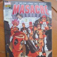 Cómics: MASACRE EL MEJOR COMIC DEL MUNDO Nº 2 - MARVEL. Lote 245992645